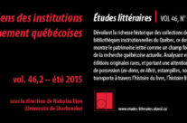 Les livres anciens des institutions d'enseignement québécoises