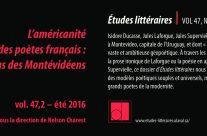 L'américanité des poètes français: le cas des Montévidéens